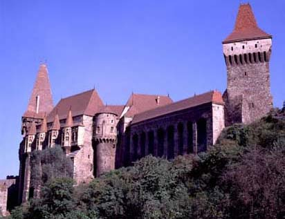 Corvin Castle, Hunadoara (courtesy of RoNTO)